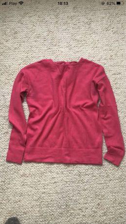 Sweter różowy róż 38M reserved