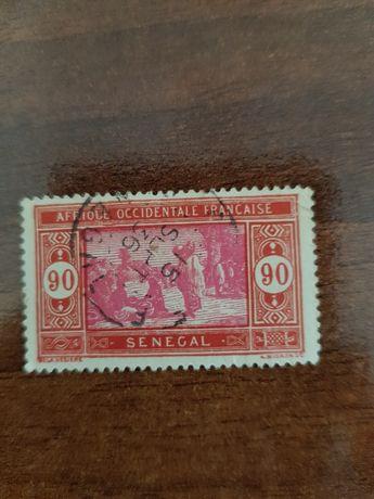Selo África Ocidental Francesa Senegal 1926