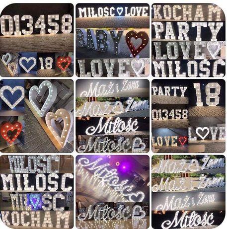 Napis love miłość baby serca. Produkcja sprzedaż. Każdy napis !!!