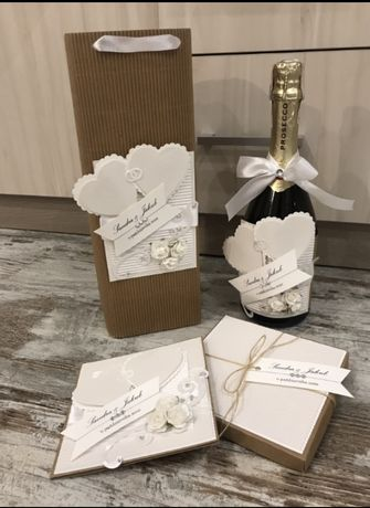 Zestaw prazentowy ślubny indywidualny personalizowany