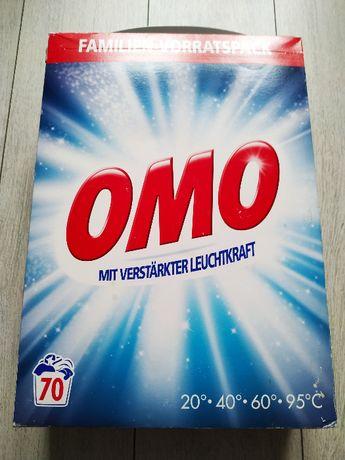 Proszek do prania OMO WHITE 5,6 kg z NIEMIEC 70 prań do tkanin białych