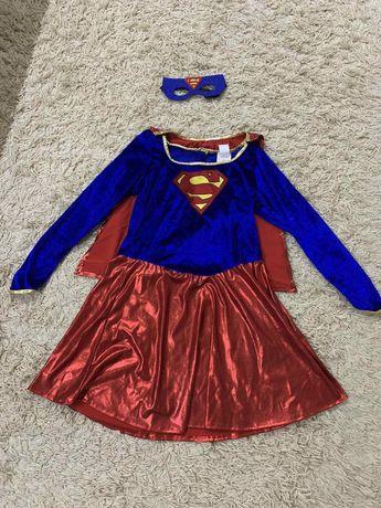 платье Supergirl Супергерл на8-9лет, Алиса на10-12лет, ангел на9-10