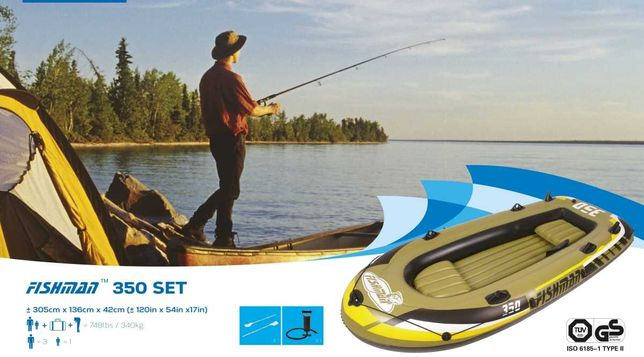 Ponton dla wędkarzy Fishman 350 SET 305x136x42CM 07209-1