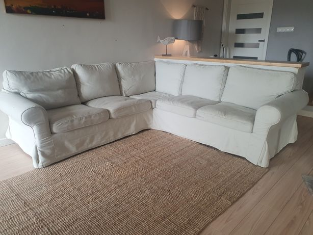 Sofa Ektorp Ikea narożna rozkładana