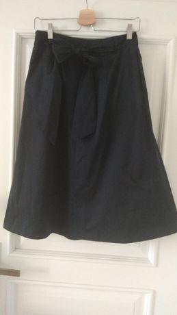 Granatowa spódnica Reserved raz założona. Z kokardą. 38