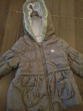 Sprzedam kurtkę dla dziewczynki zima 86