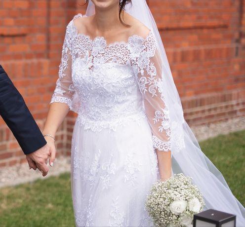 Suknia ślubna hiszpanka Renata Potrzeba