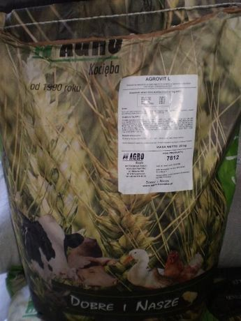 Agrovit L, witaminy, premiks bydło mleczne.