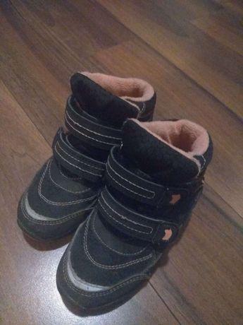 Buty zimowe dla dziewczynki, rozmiar 27