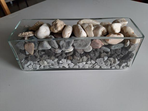 Kamień ozdobny dekoracyjny grys otoczka bazalt