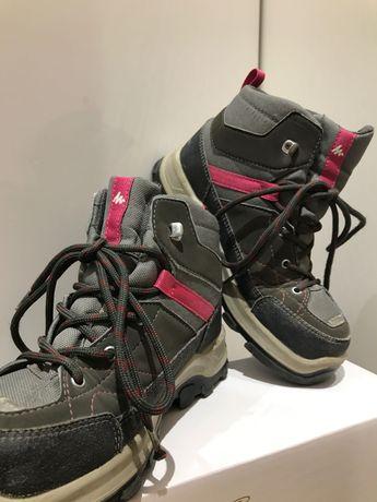 Ciepłe buty zima, jesień z gruba podeszwą rozmiar 34 Quechua