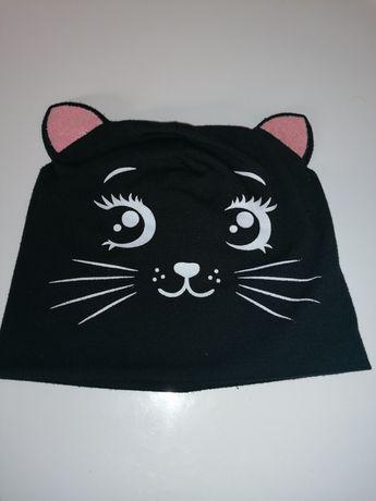 Czapka z uszkami, czapka kotek