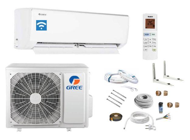 OKAZJA !Klimatyzator ścienny GREE BORA 6,1kW + zestaw montażowy 12w
