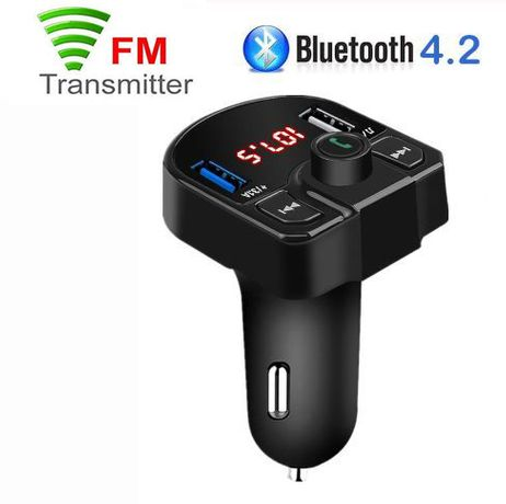 TRANSMITER FM Bluetooth DUAL Phone Car Audio