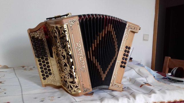 Concertina Accordiola sem uso, como Nova.