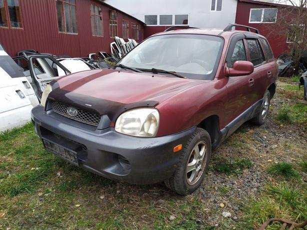 Разборка Hyundai Santa Fe 2000-2006 2,4i G4JS продажа б/у запчастей