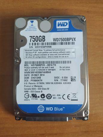 Dysk HDD WD 750GB 2,5'' (laptop/stacjonarka)