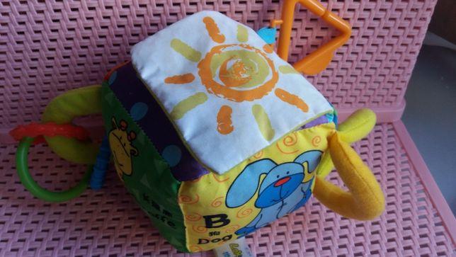 детские игрушки для малышей, кубики, погремушки, комфортеры