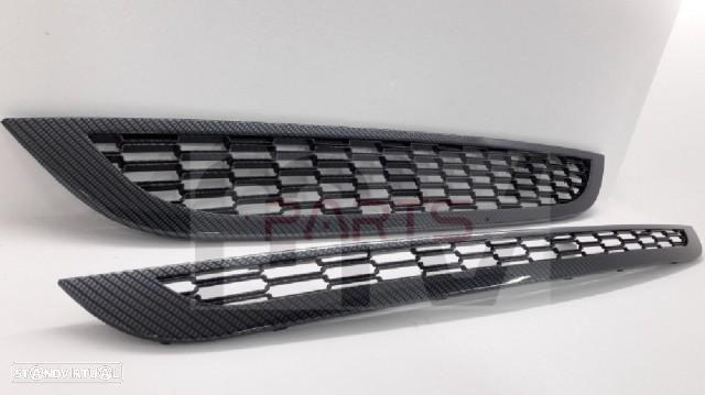 Grelhas Frontais Mini R50 R52 R53 (2001- 2006) - 2 Cores (carbono ou cromado)