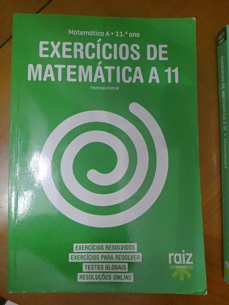 Exercícios de preparação para exame 10º e 11º