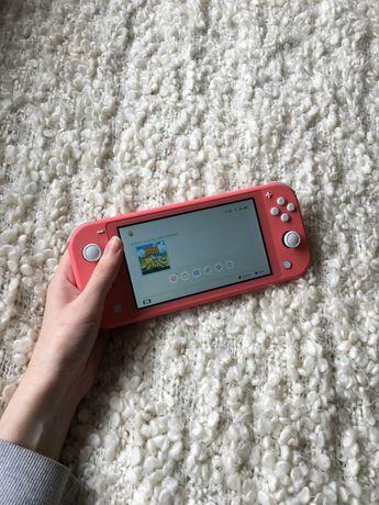 Nintendo Switch Lite Coral + Zelda