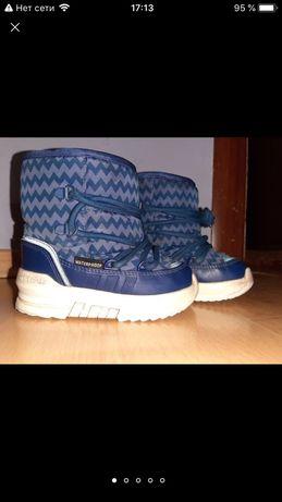 Зимние ботинки сапожки дутики сноуботсы adidas senia boot