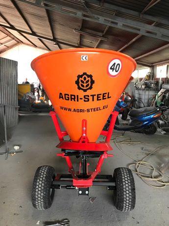 Rozsiewacz nawozów, soli nasion oraz piasku AGRI STEEL 500L