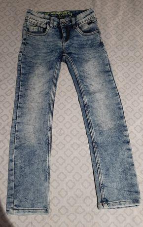 Spodnie jeansy- 2 pary.