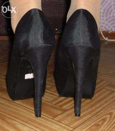 Туфли нарядные праздничные стильные черные