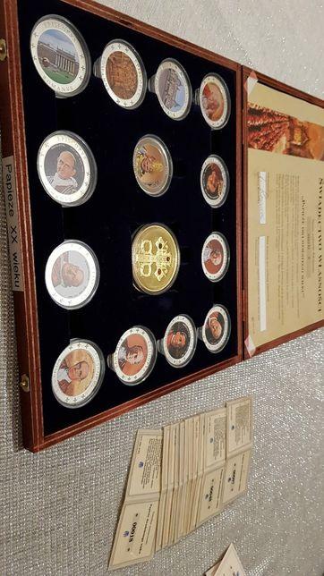 Medale Papieże kompletna kolekcja - Prezent Papież
