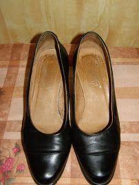 Туфли лодочки кожаные, 37.5 р.