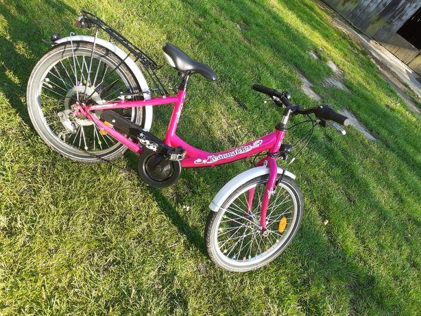 Rower dla dziecka różowy