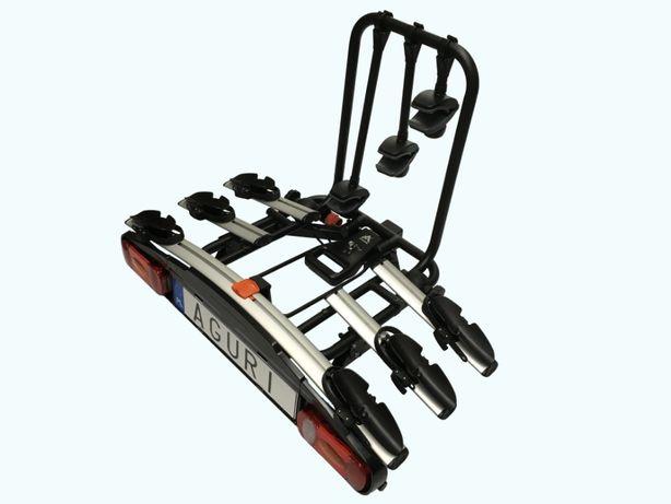 Platforma Rowerowa Bagażnik na hak Aguri ActiveBike 3 Super Jakość -