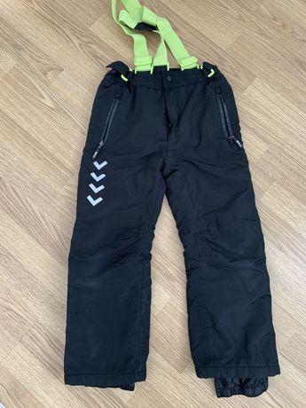 Б/у зимние штаны 128 см