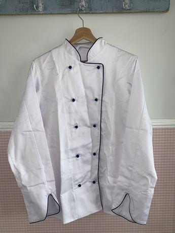 Strój kucharski (bluza,zapaska,czapka,rękawica)
