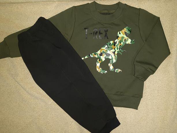 Спортивный костюм на рост 92-98-104 1,5-2-3 года штаны толстовка регла