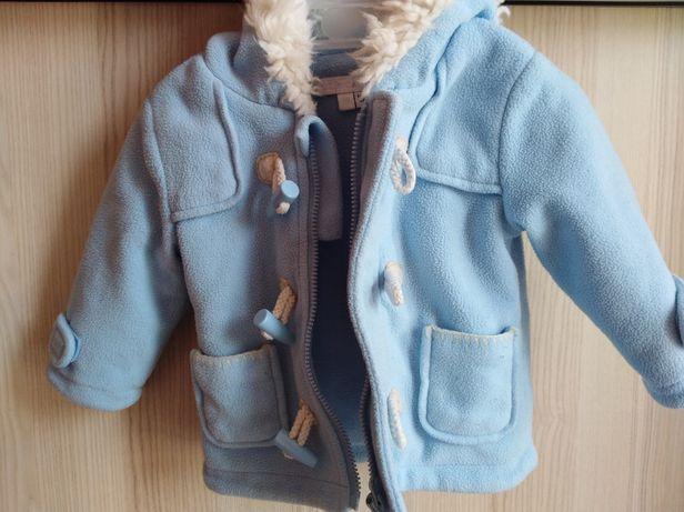Kurtka, Kurteczka niemowlęca dla dziewczynki polar