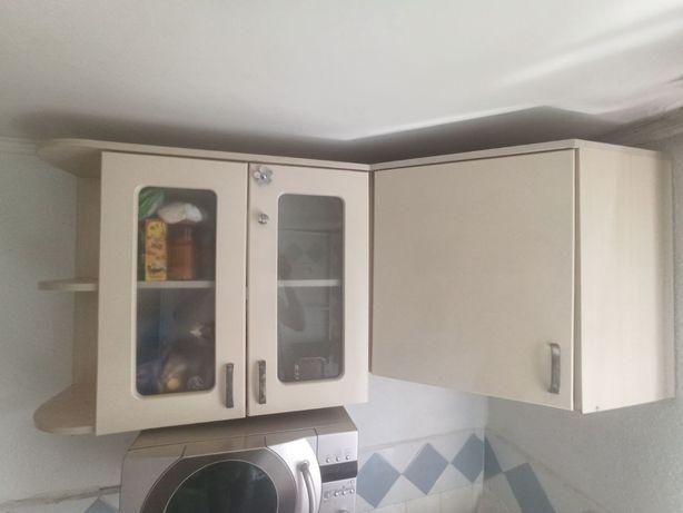 Мебель на кухню верхняя угловая часть
