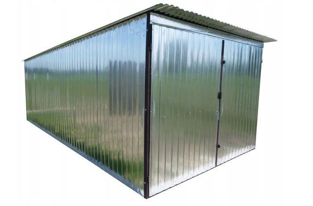 Garaz blaszany garaze blaszane ocynk  3x4-1550 zl Transport montaz
