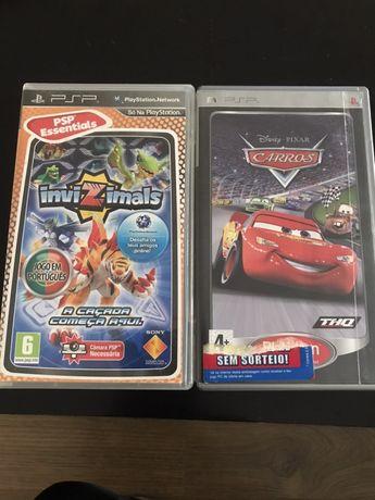 Vendo 2 jogosPSP