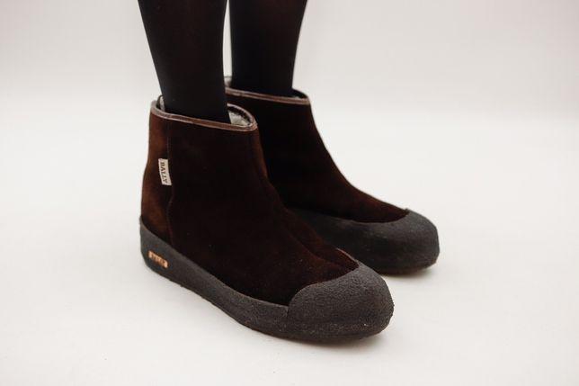 Зимние ботинки на овчине Bally