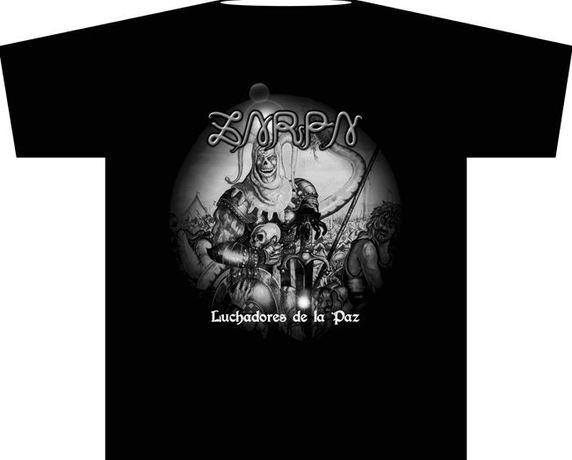 "ZARPA ""Luchadores de la paz"" T-Shirts novas tamanhos S, M, L e XL"