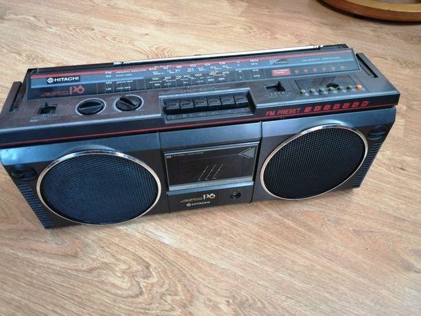 Radiomagnetofon kaseta bo box hitachi
