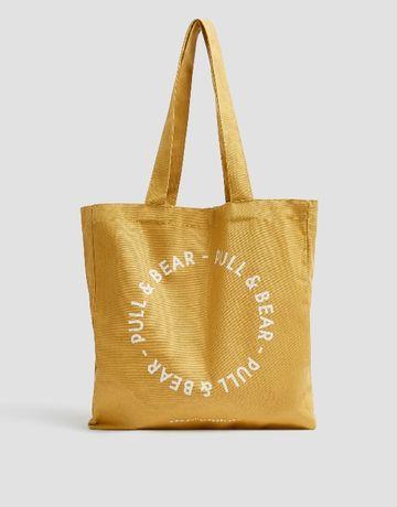 saco Tote Bag Pull and Bear - NOVO