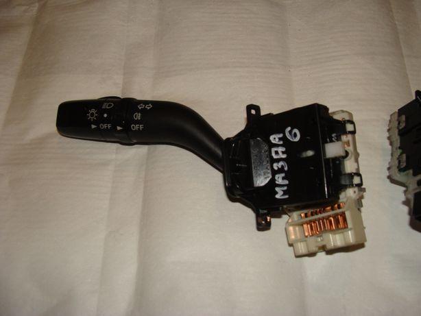 Подрулевой переключатель Mazda 6\Мазда 6 2002-2007 Рестайлинг