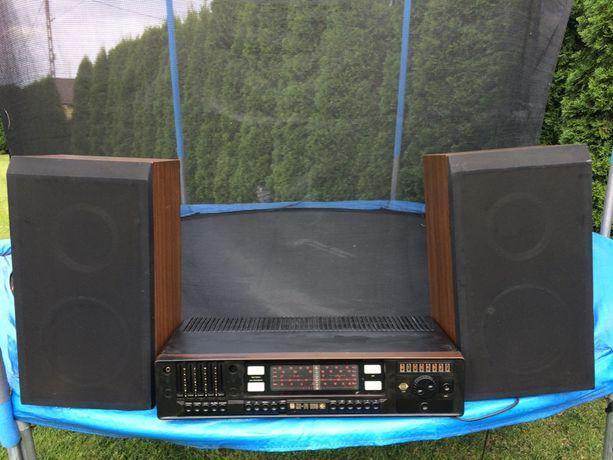 Amplituner Unitra EI ZRK HIFI 160+2 głośniki