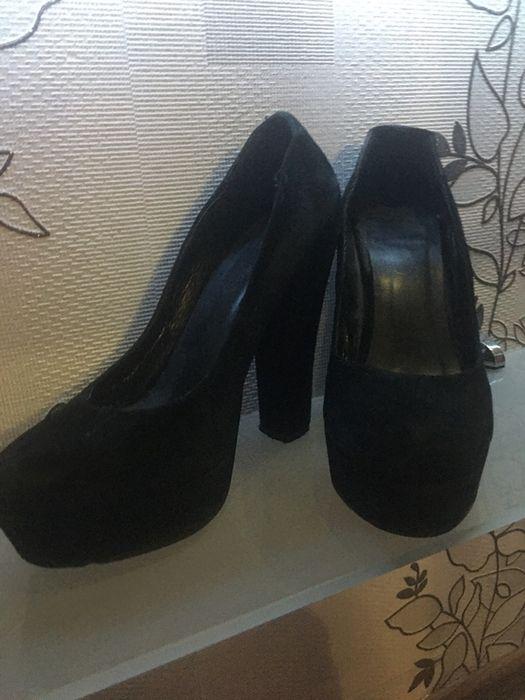 замшеві туфлі на високому каблуку Черновцы - изображение 1