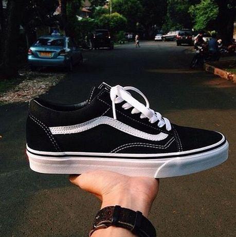Кеды Vans Classic Old Skool Black\White Оригинал