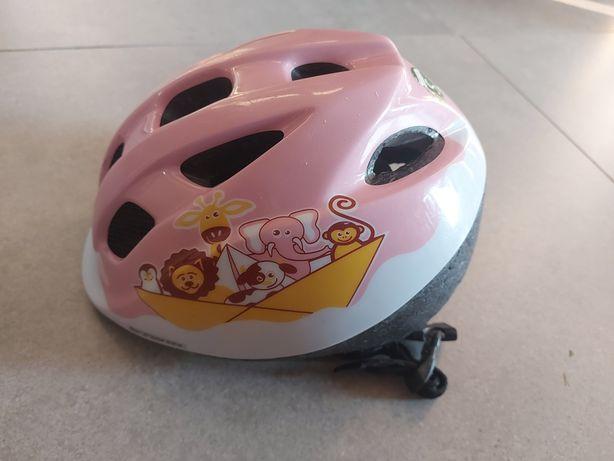 Kask na rower dla dziewczynki