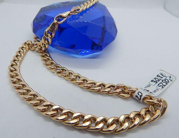 złoty łańcuszek łańcuch pr 585 (14) waga 30,9 g długość 48,5 cm